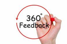 360 Degrees Feedback Concept